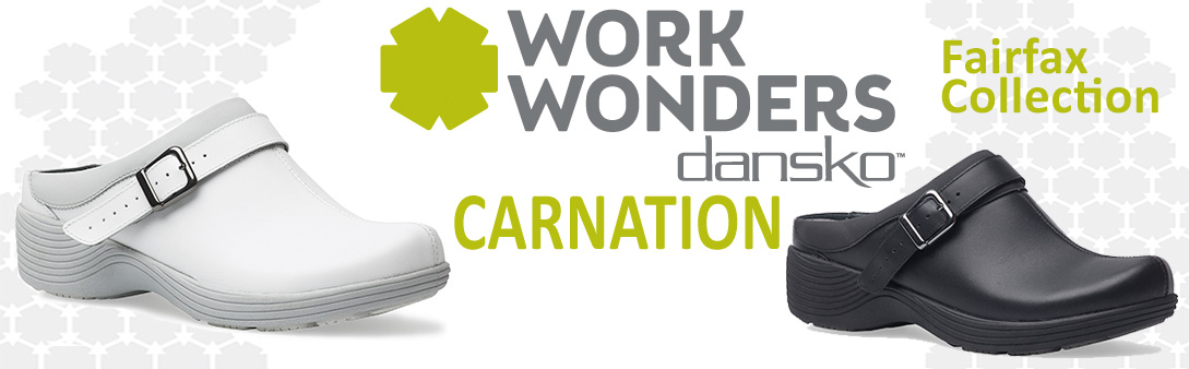 Carnation Work Wonders by Dansko™ Canada