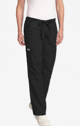MOBB Drawstring Scrub Pant with 5 Pockets - Black (BL)