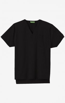 CTW-4001R Crocs Unisex Scrub Top - Black