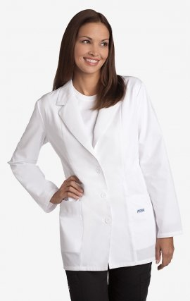 MOBB Mid Length Consultation Jacket - Women's - White (WH)
