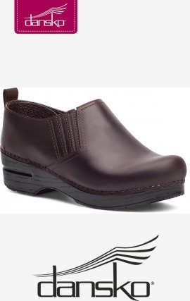 Piet Dansko Women's Clogs - Antique Brown Oiled Leather