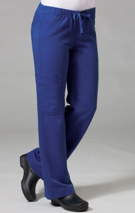 9103 Maevn Gravity - YOGA Fabric Boot Cut Elastic Waist Cargo Pant - Sketch