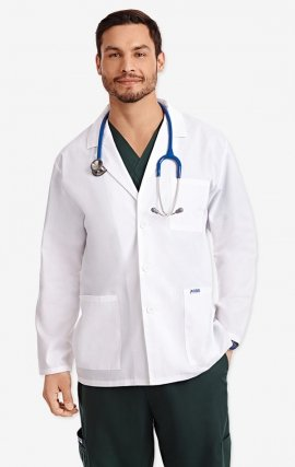 L203 MOBB Unisex Half Length Lab Coat - Men's View