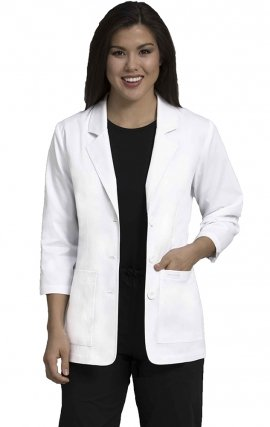 8677 Med Couture Women's 28 Inch 2-Pocket Lab Coats