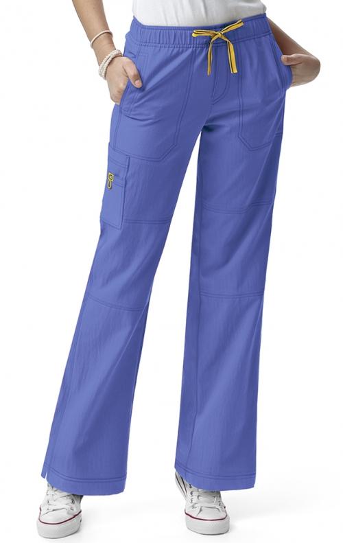 5214 WonderWink Four Stretch Cargo Scrub Pants