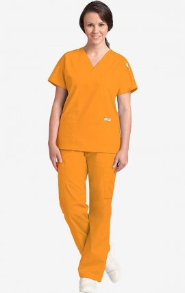 310-307 MOBB Scrub Set Top & Pant - Golden Yellow (GY)