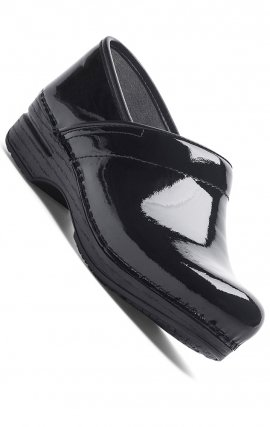 WIDE Pro XP Dansko Clogs - Black Patent Leather