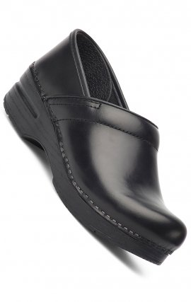 NARROW PRO by Dansko (Women's) - Black Cabrio Leather