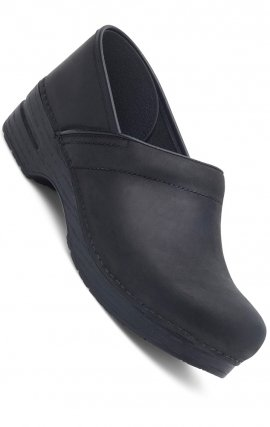 NARROW PRO by Dansko (Women's) - Black Oiled Leather