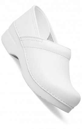 NARROW PRO by Dansko (Women's) - White Box Leather