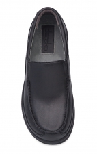 Wayne Slip-Ons Black Full Grain Leather - Dansko Men's