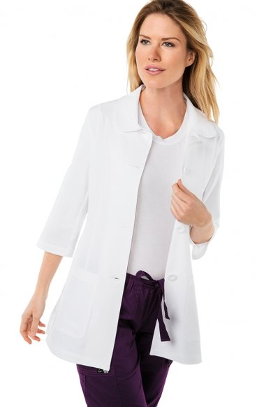 446 Koi Amber 3/4 Sleeve Women's Lab Coats