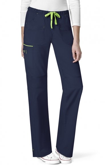 *FINAL SALE NAVY 5508 WonderFlex Joy Cargo Straight Leg Scrub Pants