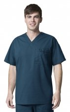 6618 WonderFlex Honor Men's Utility Media Tops - Caribbean