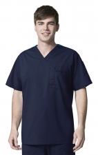 6618 WonderFlex Honor Men's Utility Media Tops - Navy