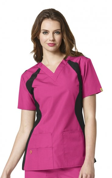 6096 WonderWink Origins Lima V-neck Scrub Tops