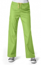 5036 WonderWink Origins Sierra Unisex Scrub Pant - Green Apple