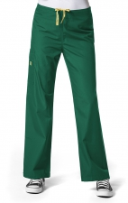 5036 WonderWink Origins Sierra Unisex Scrub Pant - Hunter Green