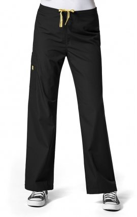 5036 WonderWink Origins Sierra – Pantalon d'uniforme unisexe - Black
