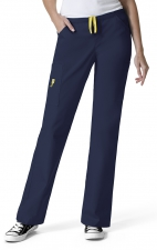 5066 WonderWink Origins Victor Straight Leg 9 Pocket Scrub Pants - Navy