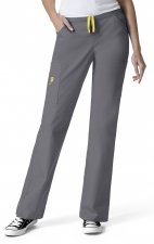 5066 WonderWink Origins Victor Straight Leg 9 Pocket Scrub Pants - Pewter