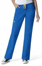 5066 WonderWink Origins Victor Straight Leg 9 Pocket Scrub Pants - Royal