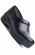 Women's Pro XP Dansko Clogs - Black Floral Tooled Leather