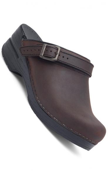 acab74721c9 Dansko Women s Ingrid Clogs - Antique Brown Oiled Leather ...