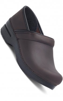 Le Professional par Dansko (Hommes) - Antique Brown Oiled Leather