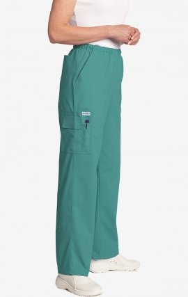 *FINAL SALE 309P TALL TEAL MOBB Unisex Perfect 5 Pocket Scrub Pant