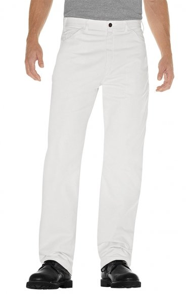 *FINAL SALE 34P MOBB Flat Front White Pant