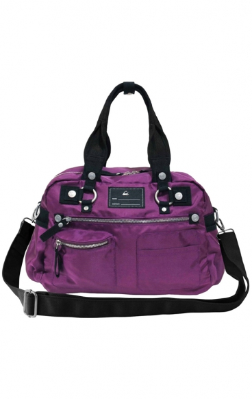 A121 Eggplant koi Scrubs Utility Bag - Fashion Organized - Limited Edition