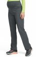 8727 Med Couture Plus One Maternity Cargo Scrub Pants - Black