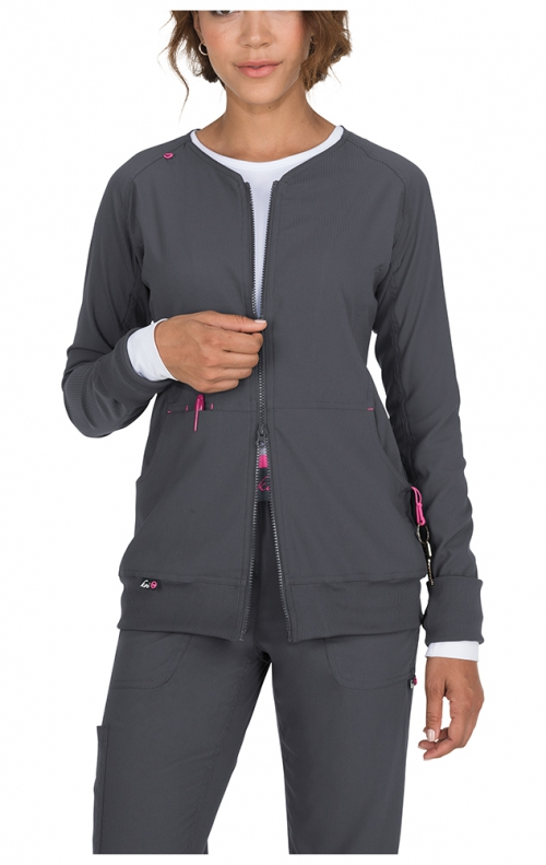 6ccc24a5f78 445 Koi Lite Clarity Ribbed Panel Scrub Jackets - Scrubscanada.ca