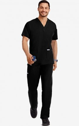 310-307-5XL MOBB Scrub Set Top & Pant - Men's View