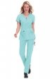 204 Koi STRETCH Scrubs Mackenzie Top