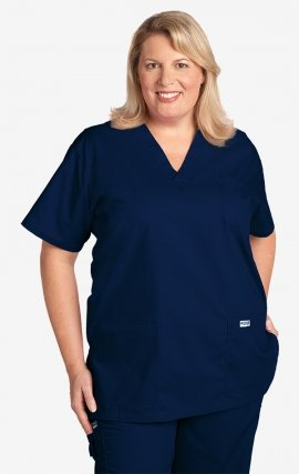 33c79177537 310T 6XL MOBB Classic Unisex 3 Pocket Scrub Top (Women's ...