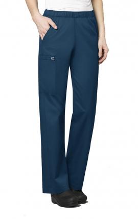 74e10106349 501 WonderWork Elastic Waist Cargo Scrub Pants Classic Fit and True-Plus  Fit - Inseam