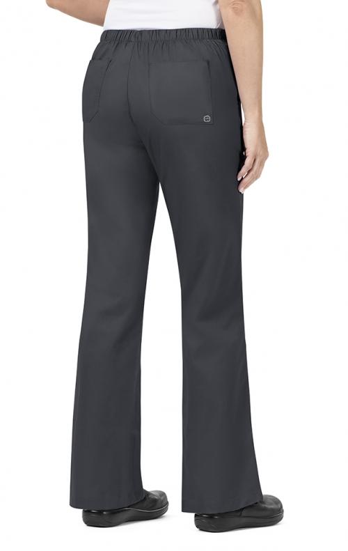 b54bb8a8e8a 502 WonderWORK Women's Flare Leg Drawstring Scrub Pant - Inseam: Regular 31