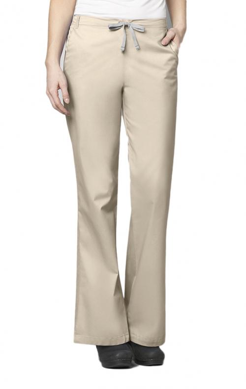 7dbbbb13194 ... 502 WonderWORK Women's Flare Leg Drawstring Scrub Pant - Inseam:  Regular 31