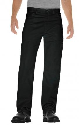 34P MOBB Flat Front Black Pant