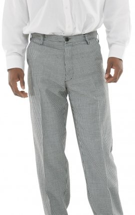 34P MOBB Flat Front HOUNDSTOOTH Pant