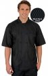 CC550 MOBB Unisex Short Sleeve Chef Coat With Moisture Wicking Mesh Back
