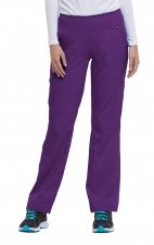 9133 Healing Hands Purple Label Tori Yoga Scrub Pants