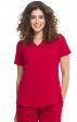 2500 HH Works by Healing Hands Monica V-Neck Scrub Top
