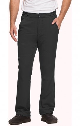 9590 HH Works by Healing Hands Men's Ryan Slim Leg Elastic Waist Pant