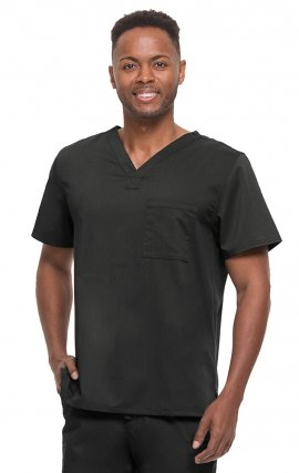 2223 Healing Hands Scrubs Blue Label Men's James V-Neck Top