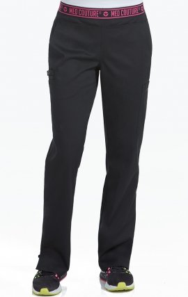 "7739 Med Couture Performance Touch YOGA 2 CARGO POCKET PANT - Regular: (29 1/2"")"