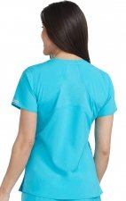 8579 SHIRTTAIL TOP RACERBACK Energy Stretch Med Couture