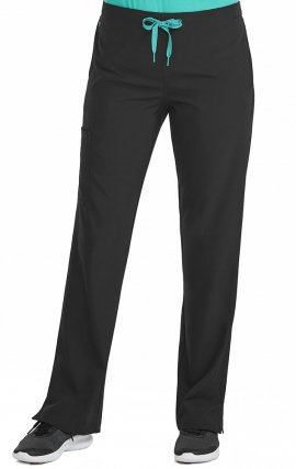 "8719 Med Couture Energy Stretch ONE CARGO POCKET PANT - Regular: (31"")"